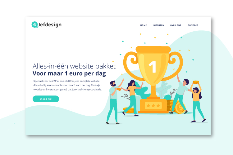 Website pakket Jefdesign
